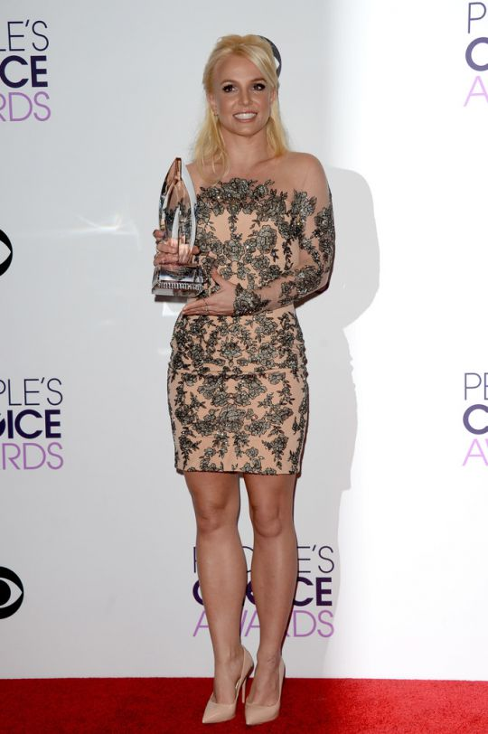 Бритни Спирс на People's Choice Awards 2014