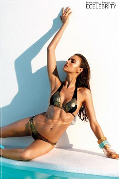Ирина Шейк представляет Beach Bunny Swimwear 2013